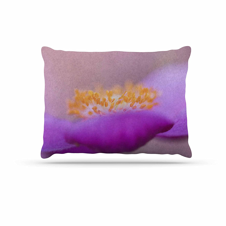 KESS InHouse Iris Lehnhardt Grace Purple Floral Dog Bed, 30  x 40