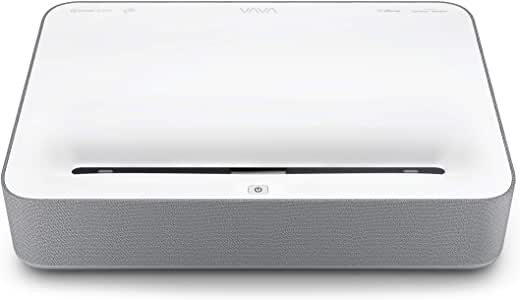 VAVA 4K UHD Laser TV Home Theatre Projector | 6000 Lumens (Light Source) | Ultra Short Throw | HDR10 | Built-in Harman Kardon Sound Bar | ALPD 3.0 | ...