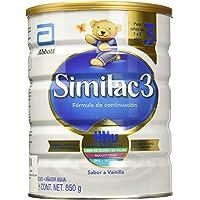 Similac Etapa 3 Formula Infantil en Polvo para 1-3 Años, 850 g, Sabor Vanilla