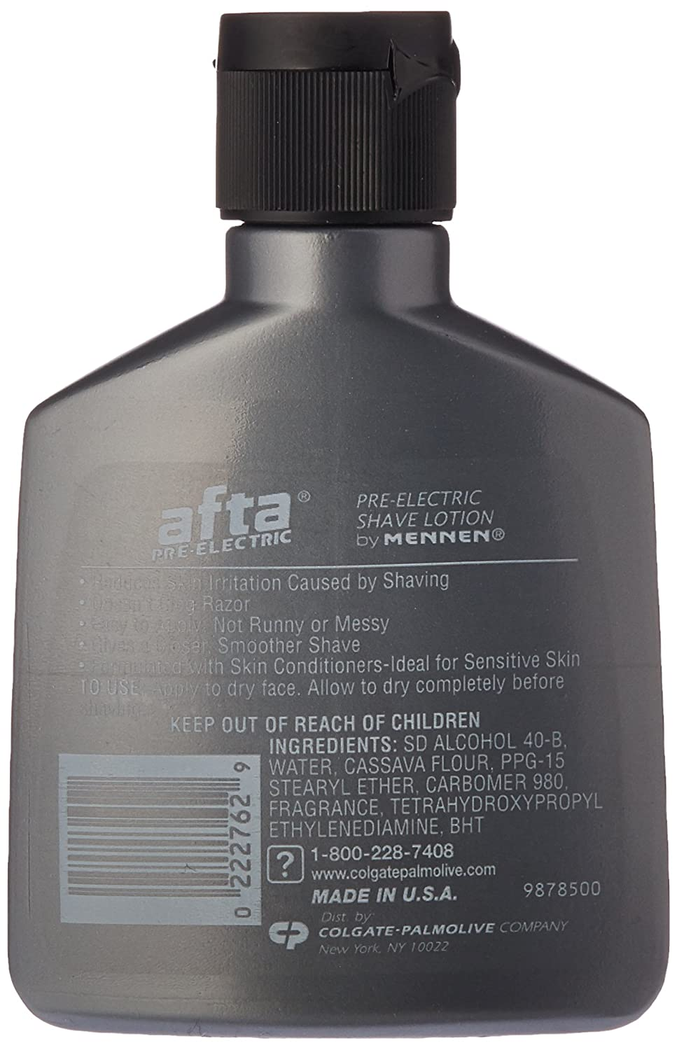 Amazon Com Afta Pre Electric Shave Lotion With Skin Conditioners