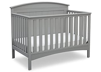 7e83a9a05 Amazon.com   Delta Children Archer Solid Panel 4-in-1 Convertible Baby Crib