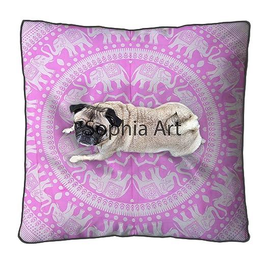 Sofía Art - Funda de almohada grande de 35 cm con diseño de ...