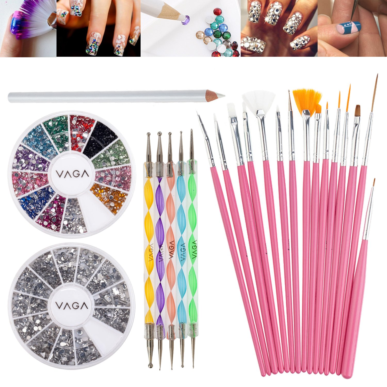 Best Rated in Nail Decoration Kits & Helpful Customer Reviews ...