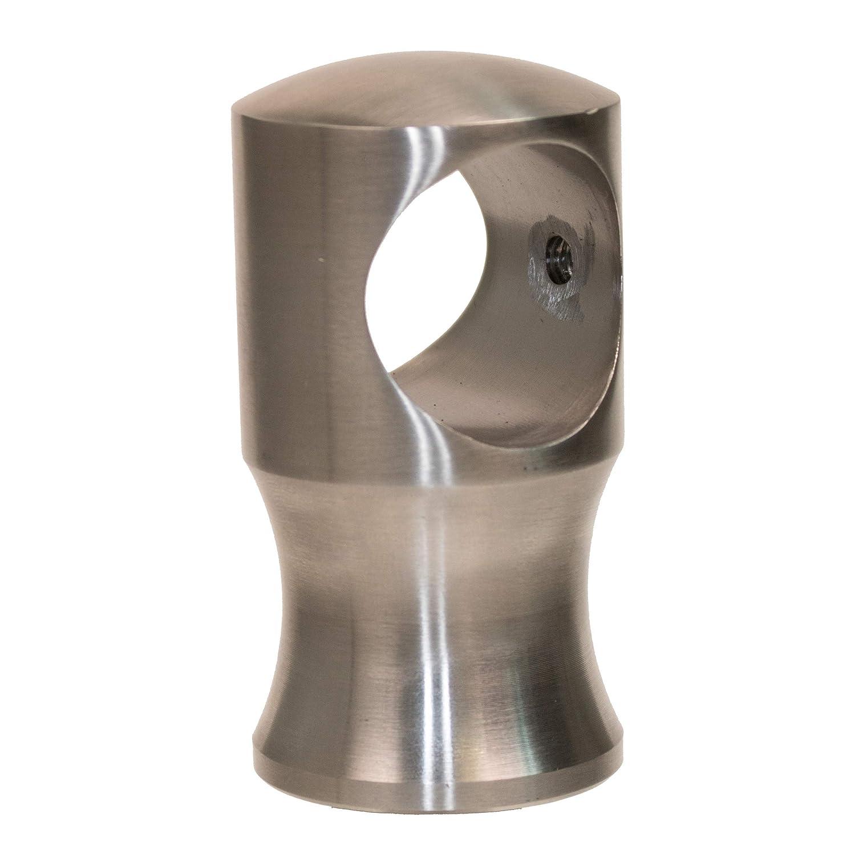 Seiltr/äger Edelstahl matt f/ür 30mm Handlaufseil
