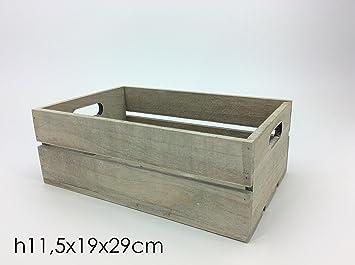 girm® – ge639439 caja de madera porta objetos h11,5 X 29 X 19