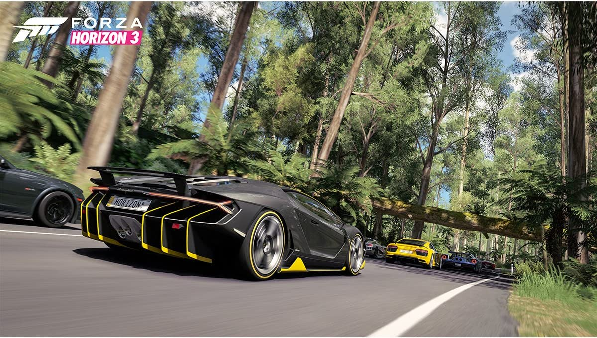 Amazon com: Forza Horizon 3 - Xbox One: Microsoft