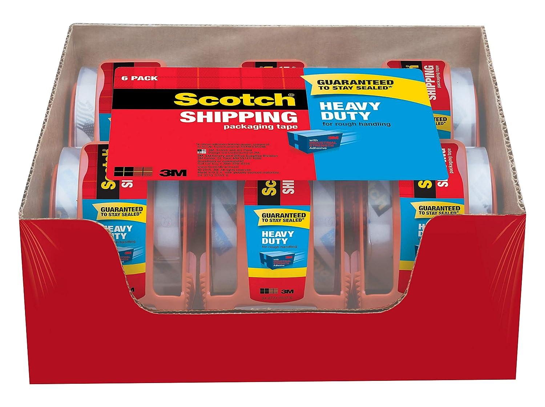Amazon.com: Scotch cinta de embalar cargas pesadas ...