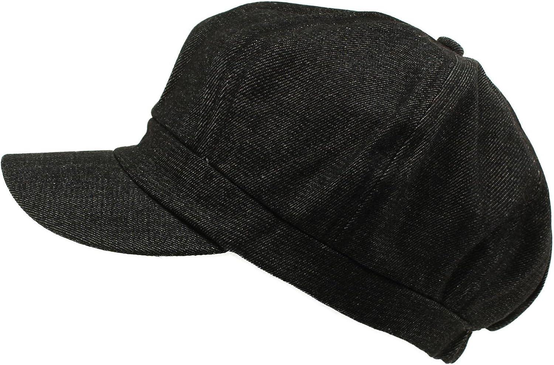 Summer 100% Cotton Plain Blank 8 Panel Newsboy Gatsby Apple Cabbie Cap Hat
