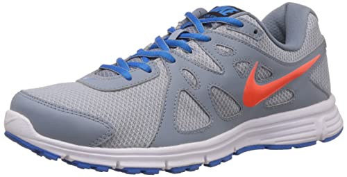 e334e6e897e2 ... gray navy white shoes 18b67 064b5  best price nike revolution 2 msl mens  style 554954 043 size 8 766ed e9bfe