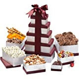 Broadway Basketeers Happy Birthday Celebration Happy Birthday Wishes Gift Tower.