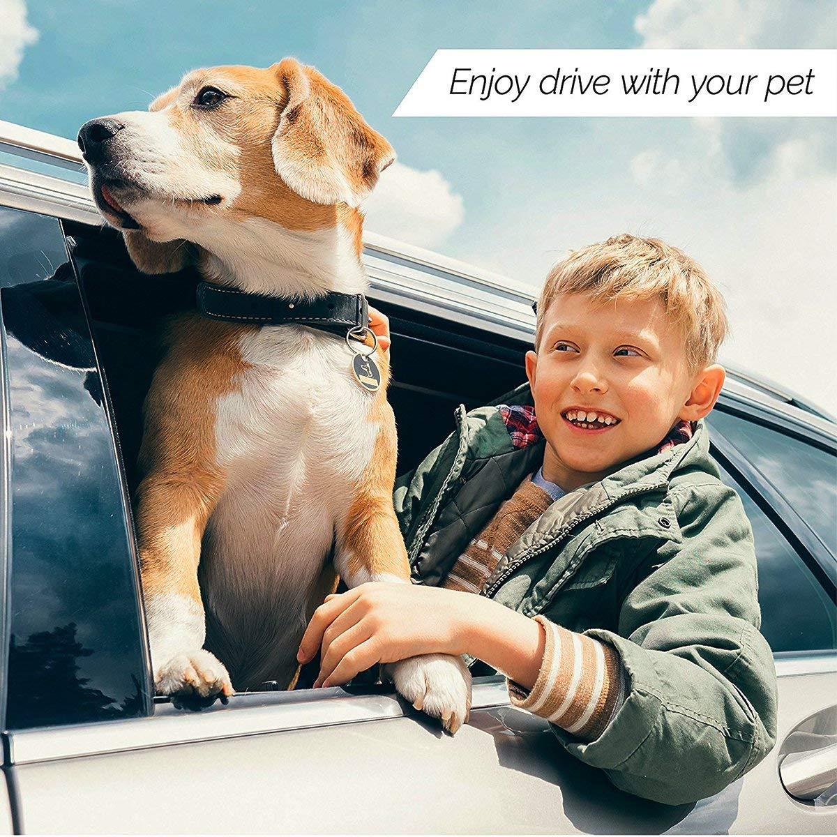 Couverture pour Animal Domestique Durable /étanche PetsNall Chien Housses de si/ège Auto