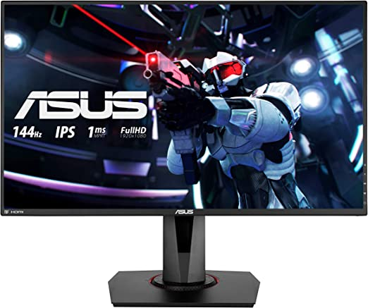 Asus Vg279q 68 68 Cm Gaming Monitor Schwarz Computer Zubehör