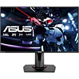 ASUS VG279Q, 27'' FHD (1920 x 1080) Gaming monitor, IPS, up to 144Hz, 1ms MPRT, DP, HDMI, DVI, FreeSync, Low Blue Light, Flicker Free, TUV Certified