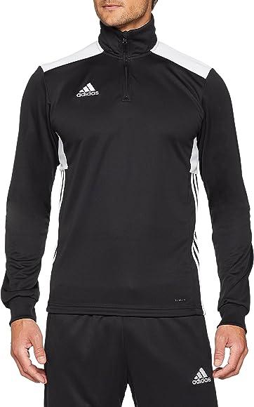 Adidas Regi18 TR Top Sudadera, Hombre, Black/White, XS: Amazon.es ...