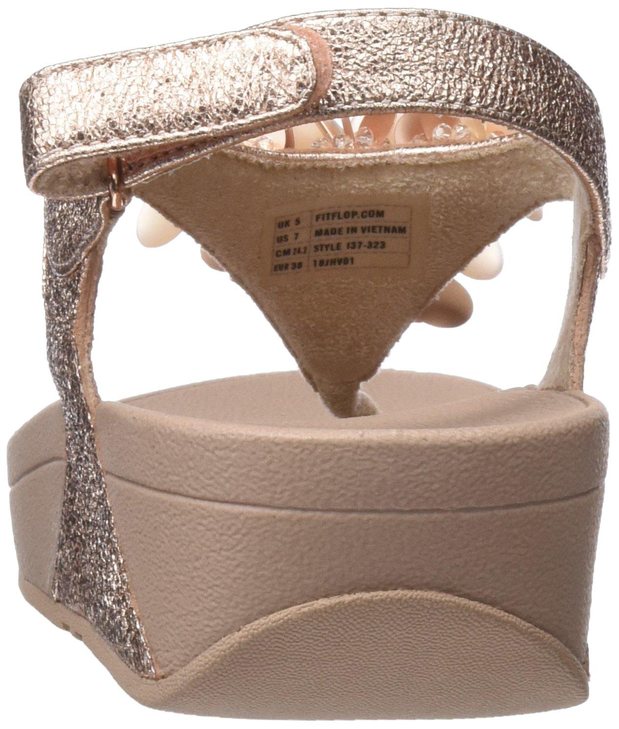 FitFlop Damen Boogaloo Back Strap Sandales (Rose Slingback, Rosa Pink (Rose Sandales Gold 323) a10caa