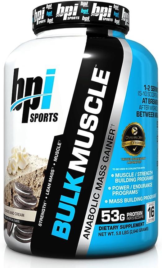 BPI Sports Bulk Muscle Whipped Vanilla - 2630 gr