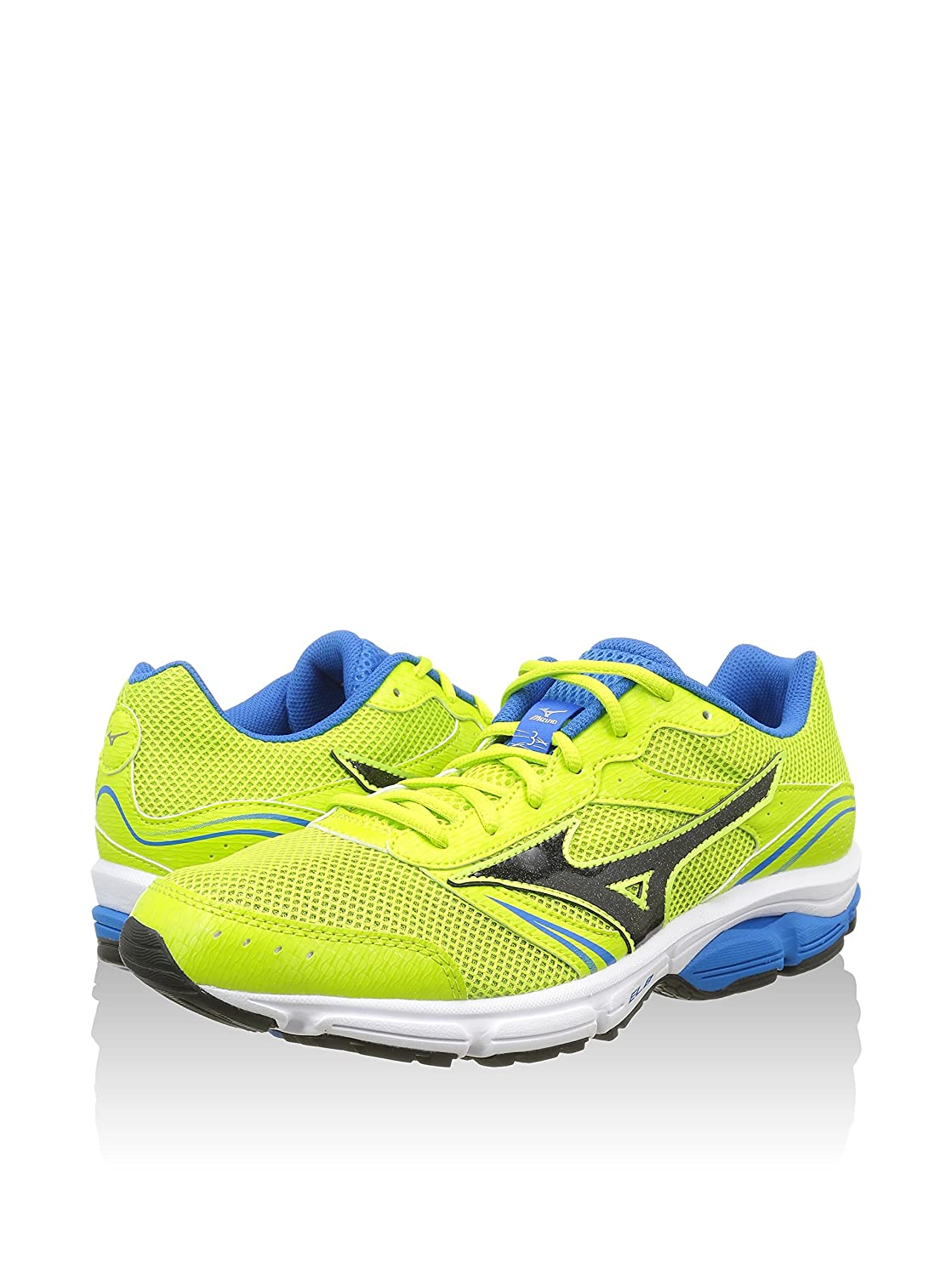 Mizuno Shoes Running Officially Wave Impetus 3 J1GE151311 Lime Nero Royal Size 40 SHIPPED FROM ITALY Pb24lF