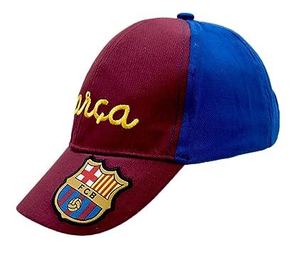 F.C.BARCELONA - Gorra Barça, Color Azul Y Granate, Talla 46 Cm ...