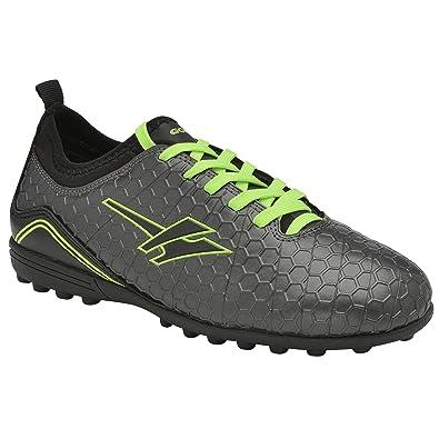 Gola Childrens Boys Apex VX Astro Turf Football Boots (2 UK) (Dark Grey cb3aead7f6