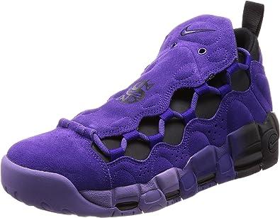 Nike Men's Air More Money QS Prpl Court Purple/Court Purple Basketball Shoe  6 Men US