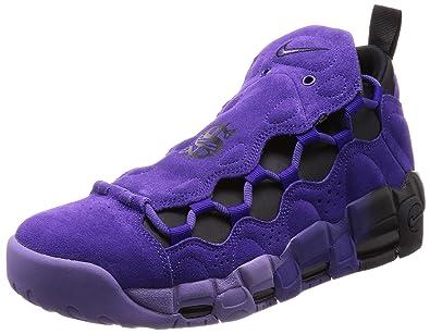 2a76fe9be Nike Men's Air More Money QS Prpl Court Purple/Court Purple Basketball Shoe  6 Men
