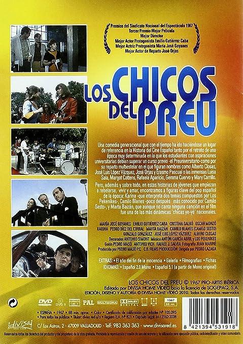 Los chicos del preu [DVD]: Amazon.es: KARINA, CAMILO SESTO, MARTA ...