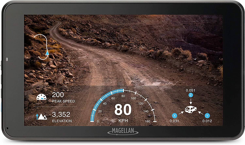 Magellan TN7881SGLUC TR7 Cam Trail and Street 7-Inch GPS Navigator with Rear-Facing Trail Camera