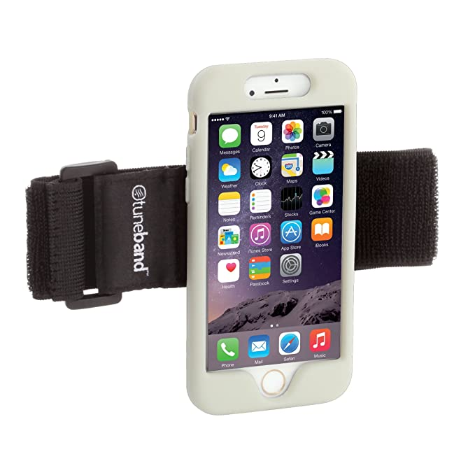 newest c3871 c1bd3 TuneBand for iPhone 6 and iPhone 6S, Premium Sports Armband with Two Straps  and Two Screen Protectors, GLOW IN THE DARK
