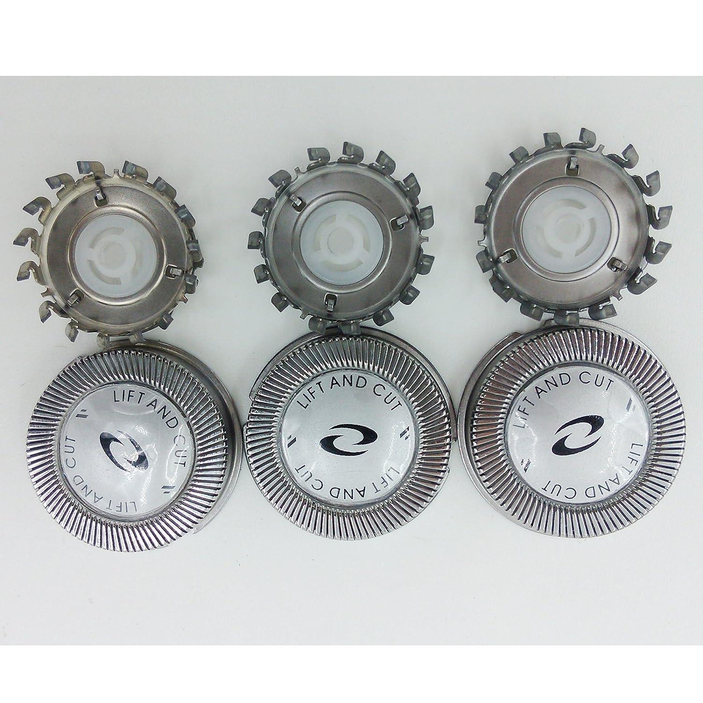 3 x Replacement Shaver Head for Philips HQ56 HQ55 HQ4+ HQ3 HQ802+HQ912+PQ202 U-nique