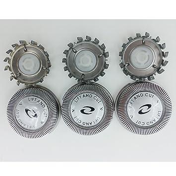 Amazon.com  3 x Replacement Shaver Head for Philips HQ56 HQ55 HQ4+ HQ3  HQ802+HQ912+PQ202  Beauty 98538b43e0