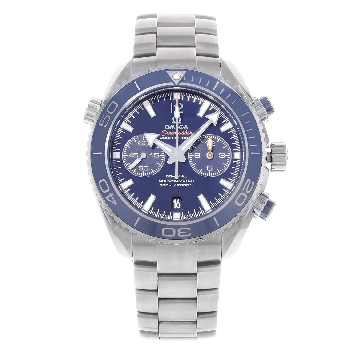 Omega Seamaster Planet Ocean Chronograph Mens Watch 232.90.46.51.03.001