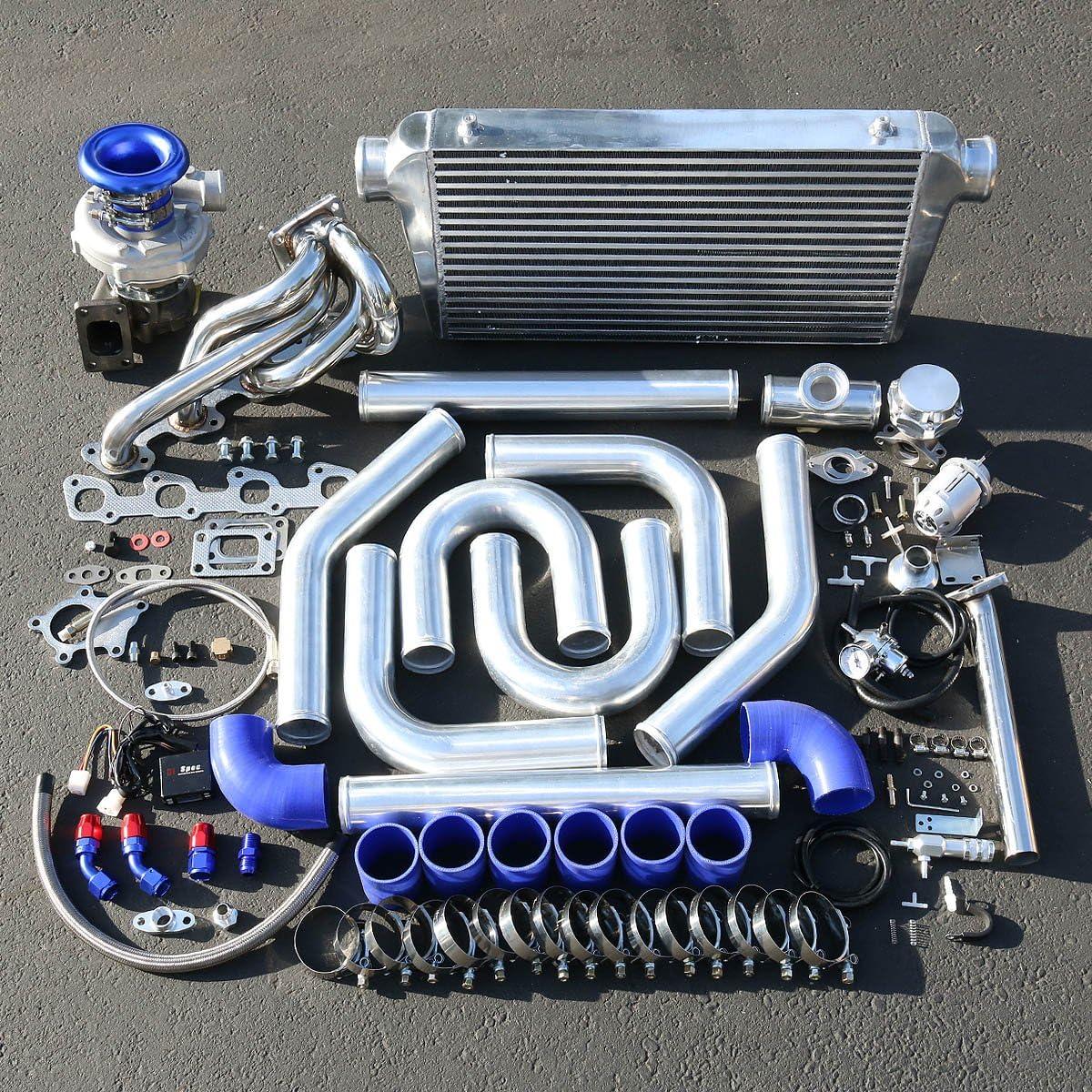 volvo 240 series high performance 15pcs t04e turbo upgrade installation kit amazon co uk car motorbike volvo 240 series high performance 15pcs