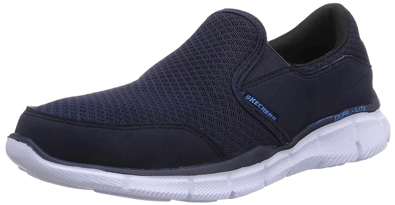 Skechers Equalizer Persistent - zapatilla deportiva de material sintético hombre 45 EU|Azul - Azul (Nvy)