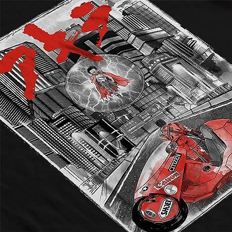Akira Welcome To Neo Tokyo Citycscape Mens T-Shirt: Amazon.es ...