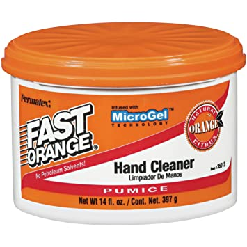 Permatex 35013-12PK Fast Orange Pumice Cream Hand Cleaner, 14 oz. (Pack