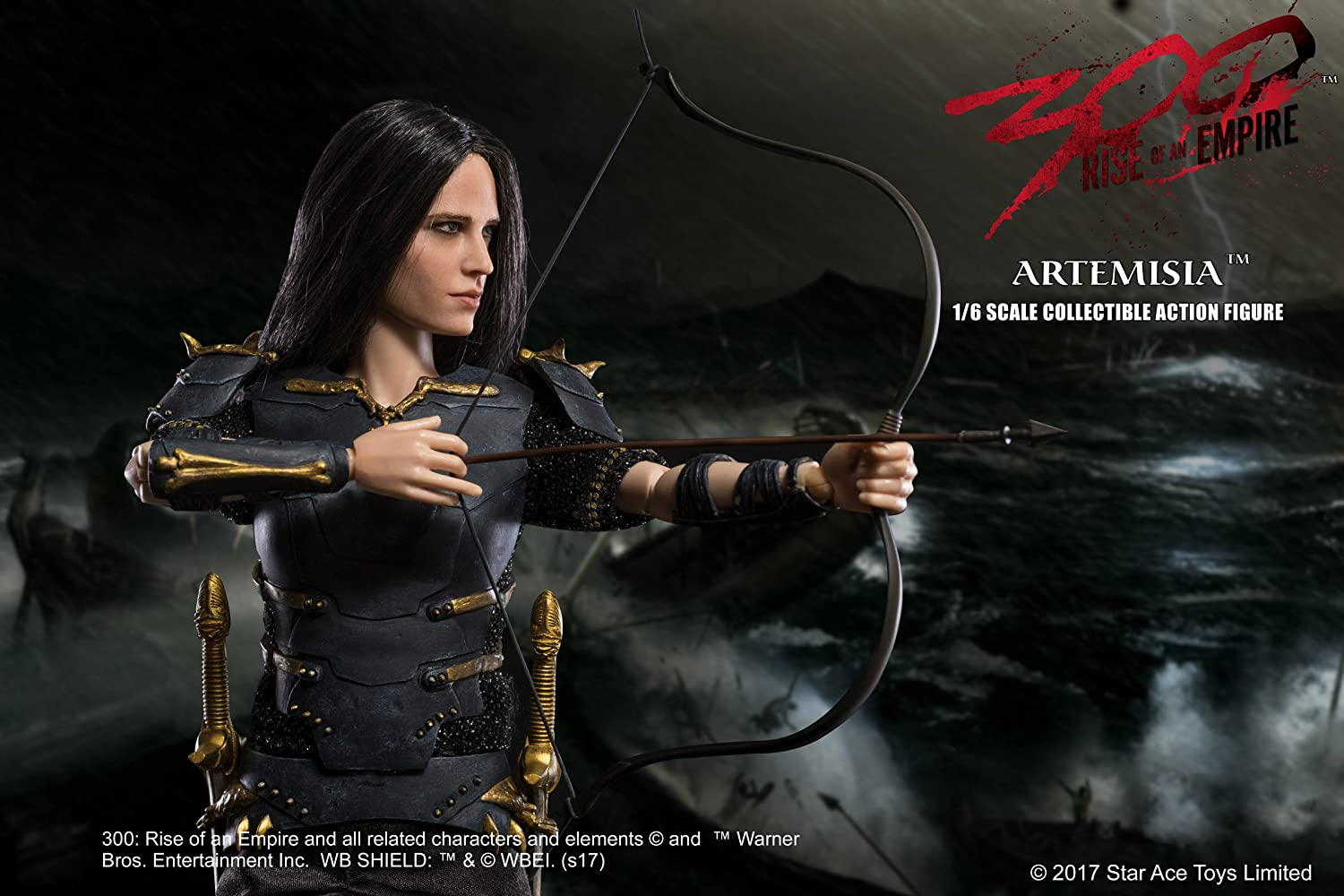 General Artemisia 1 6 Scale Action Figure Diamond Comic Distributors MAY178637 Star Ace Toys 300 Rise of an Empire