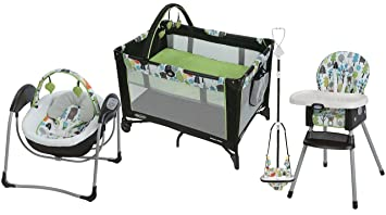 f7b5b183029f Amazon.com   Graco Bear Trail Collection - On The Go Playard ...