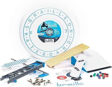 Braille Skateboarding Mystery SK8 Collector Set