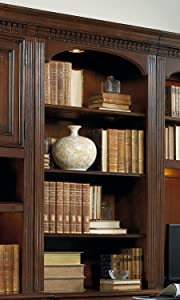 Hooker Furniture European Renaissance Computer Credenza Hutch