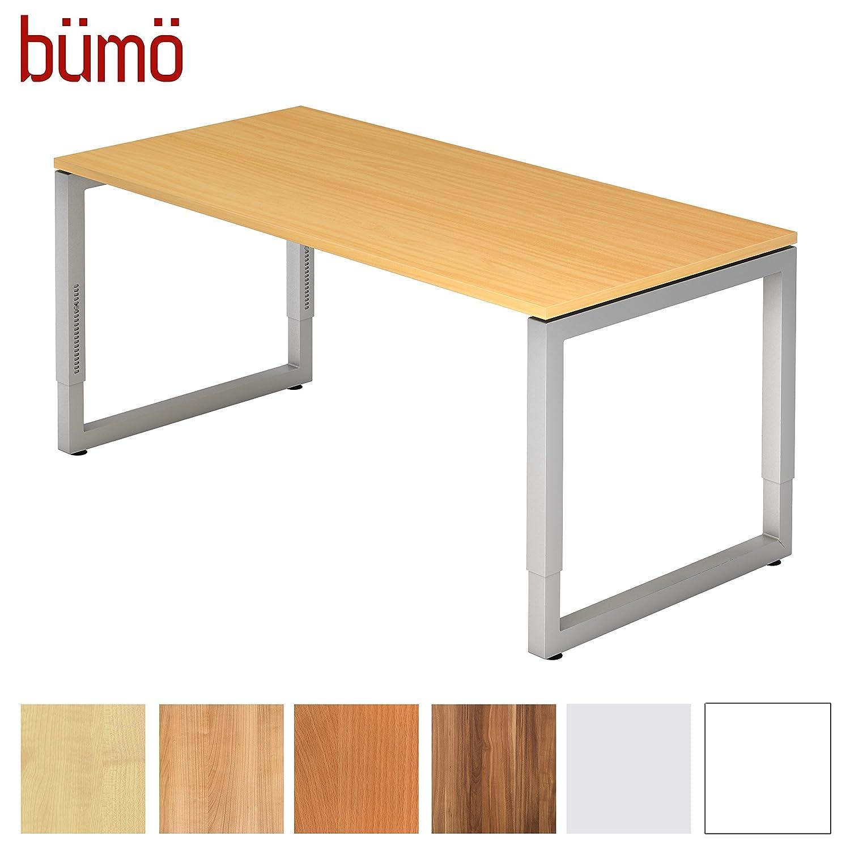 Fabulous Bümö® massiver Schreibtisch höhenverstellbar | Bürotisch extrem  LW36