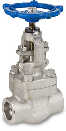 1 Globe Valve 800# Threaded 316L Stainless Steel Forged A182 OS/&Y Sharpe #44836