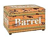 Haku Möbel 30185Seat Storage Chest MDF, Faux