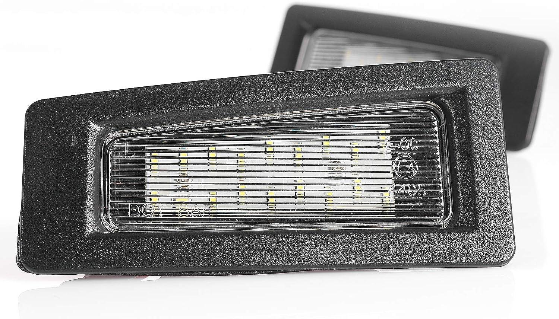 /Éclairage de plaque min/éralogique /à LED Plug /& Play avec homologation