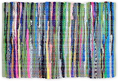 2 48 px 25 multi colored Rag rug