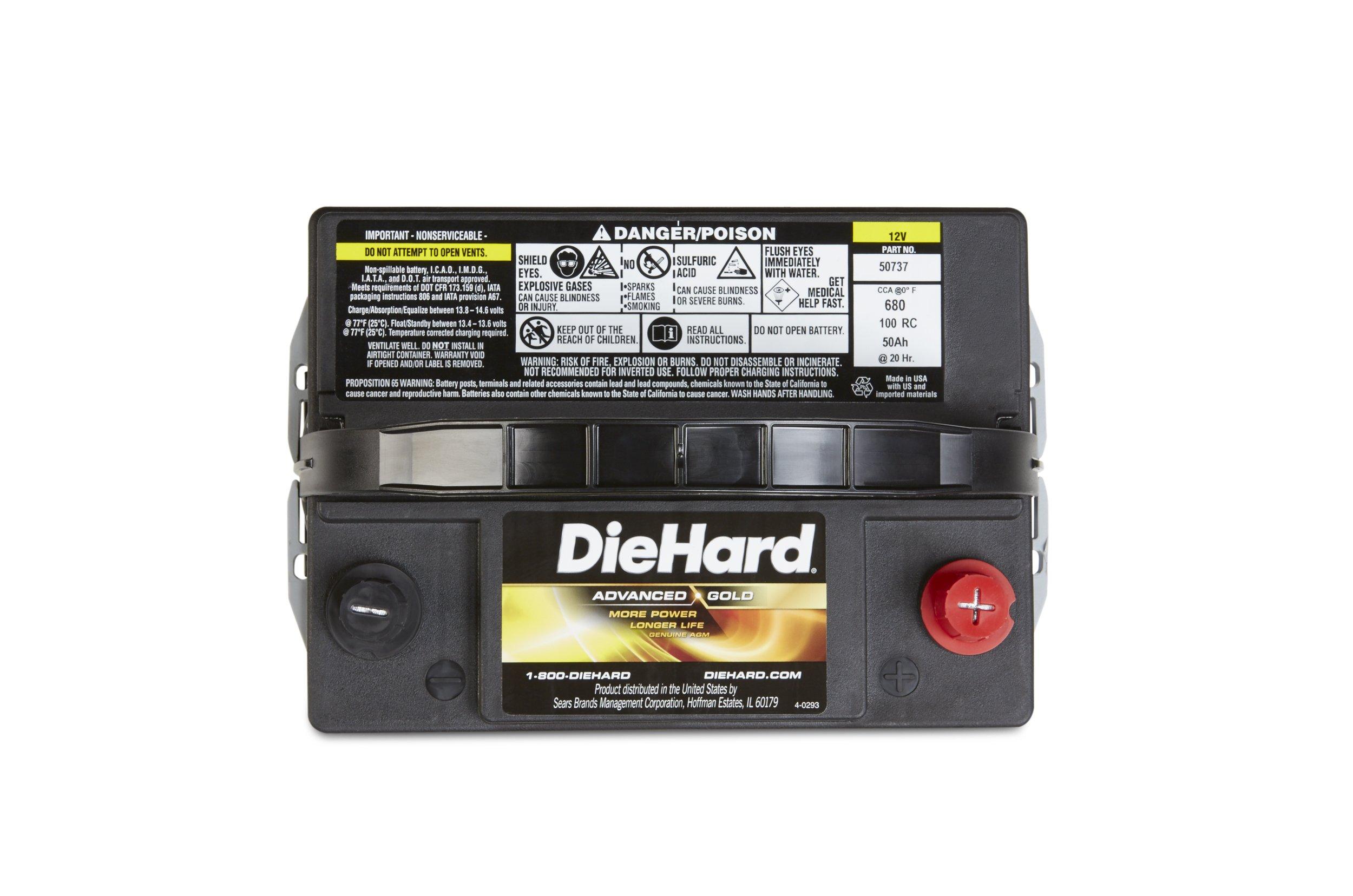 DieHard 38275 Advanced Gold AGM Battery (GP 35) by DieHard (Image #4)