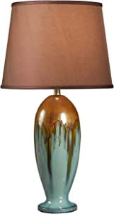 "Kenroy Home 32366TEAL Tucson Table Lamp, 32"" x 15"" x 15"""