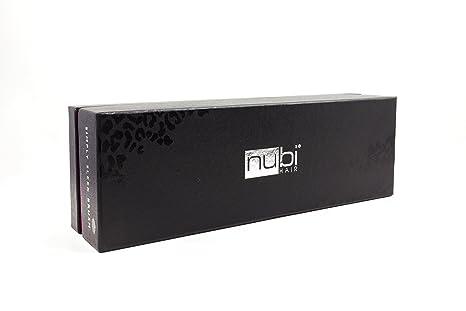 Nubi Hair Simplemente elegante cerámica escova cepillo (guepardo rosa): Amazon.es: Belleza