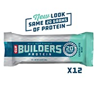 Deals on 12-Pack CLIF BUILDERS Protein Bars Chocolate Mint 2.4 oz
