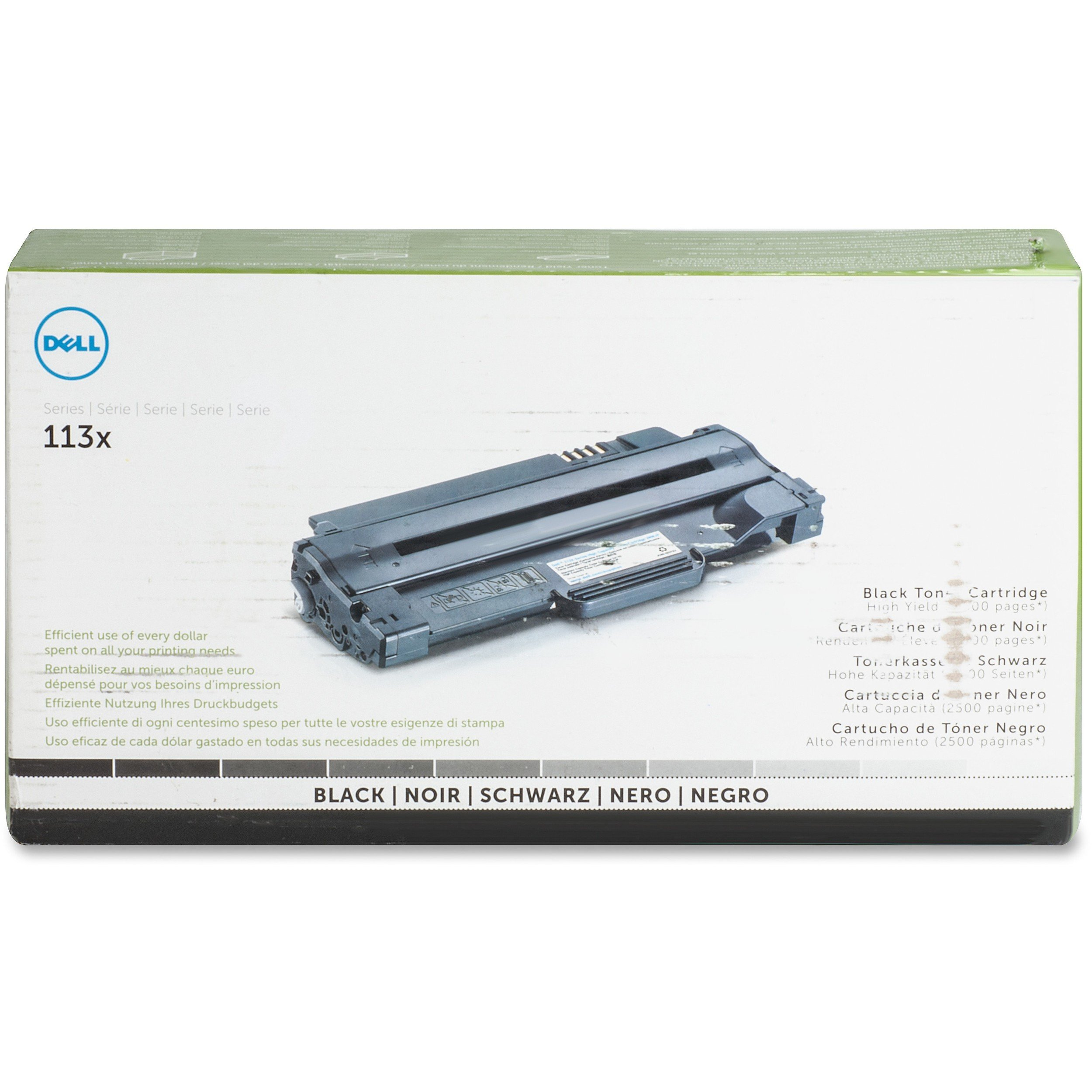 Toner Original DELL Computer 2MMJP Black 1130/1130n/1133/1135N Laser