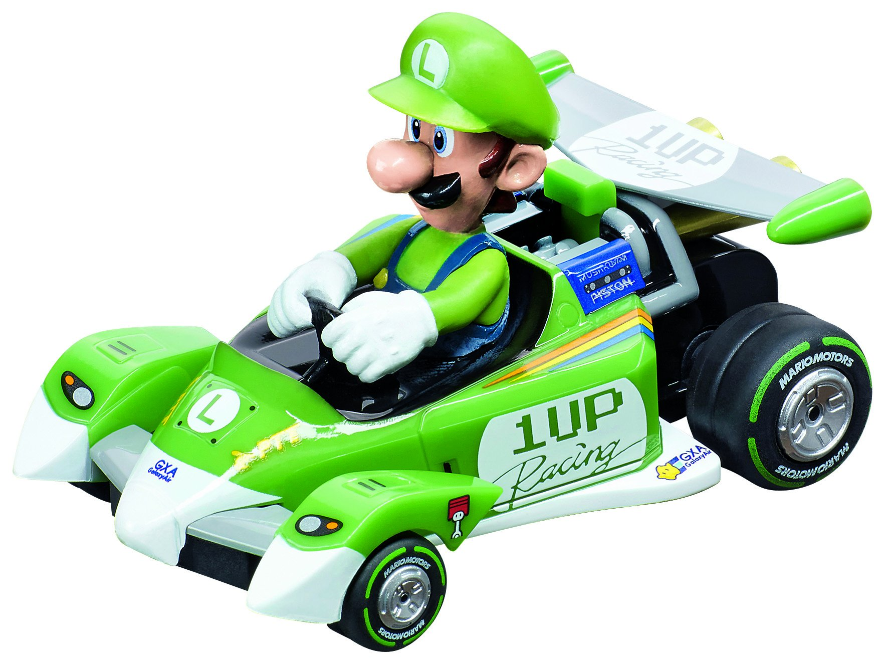 Carrera 64093 GO!!! Mario Kart Circuit Special - Luigi Slot Car (1:43 Scale) by Carrera